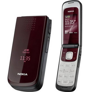 Nokia 2720 fold Red