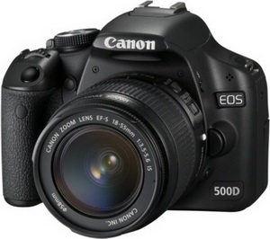CANON EOS 500D 18-55 IS KIT BLACK